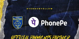 Kerala Blasters partners with PhonePe for official payments