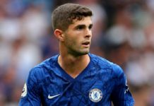 Chelsea forward Christian Pulisic is likely to be out of action for around 10 days after picking up an injury on the left ankle.