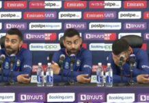 """""""Drop him""""? Virat Kohli chuckles speaking of Rohit Sharma after India's 10-wicket loss to Pakistan"""