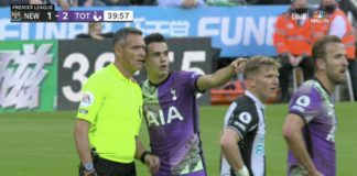 Quick footed Sergio Reguilon pauses Newcastle-Tottenham game over medical emergency